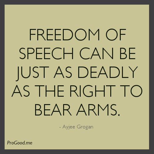 Freedom Of Speech Quot...