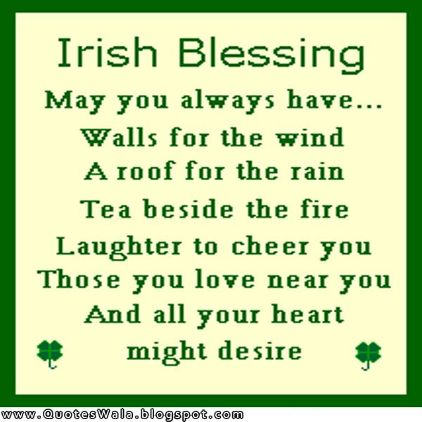 Irish Blessings And Quotes. QuotesGram