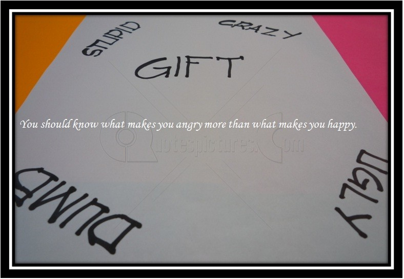 what make you angry how do People underestimate you they shouldn't make you angry when you get angry, your rage becomes a wild force take a look at your result to find out what your rage is.