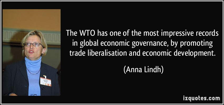 Reasons behind the Formation of WTO