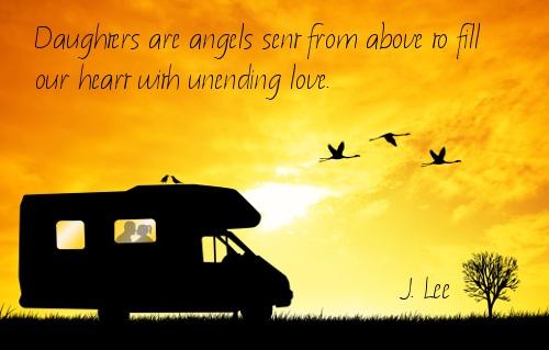 Angel Daughter Quotes. QuotesGram