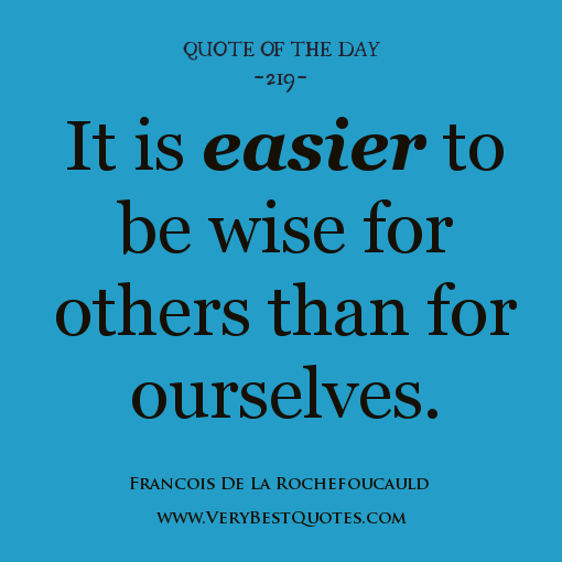Quote Of The Day: Wisdom Quotes Of The Day. QuotesGram