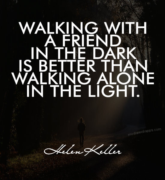 Walking Alone Quotes Sayings Walking Alone Quotes. ...