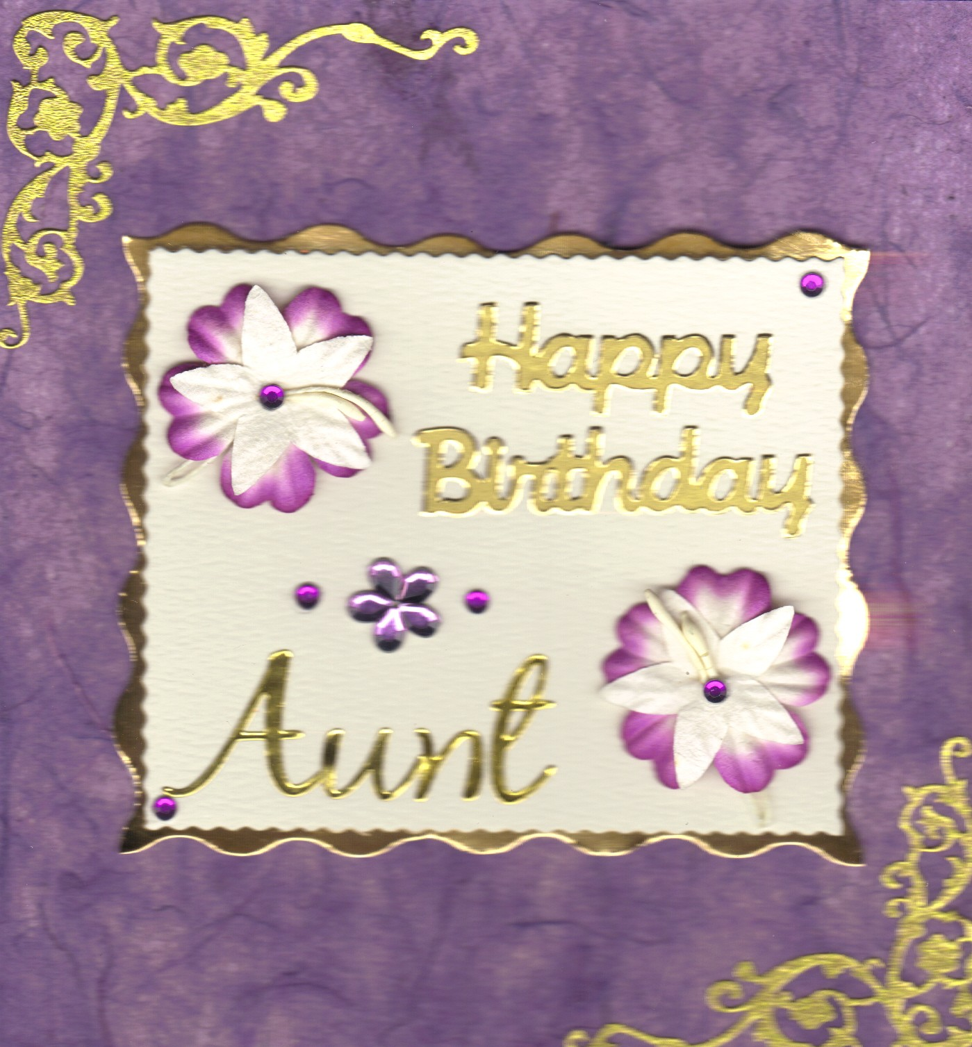 Mothers Day Card Happy Birthday Aunt Quotes Quotesgram