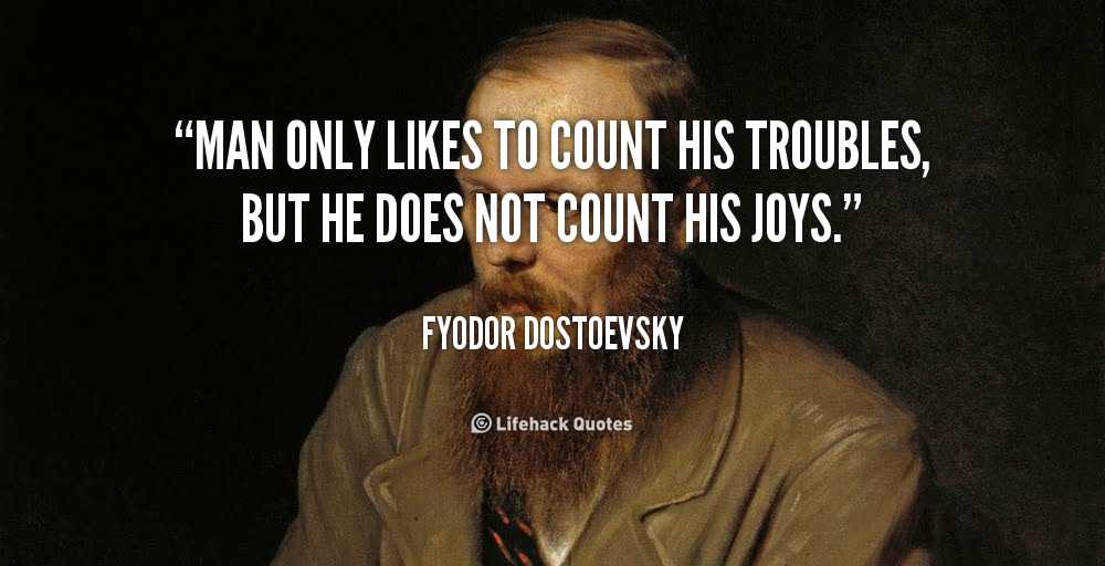 an introduction to the life of fyodor dostoevsky Dostoevsky as an anti-semite as an introduction to the narrative, dostoevsky details the life of the old karamazov, fyodor pavlovich dostoevsky writes.