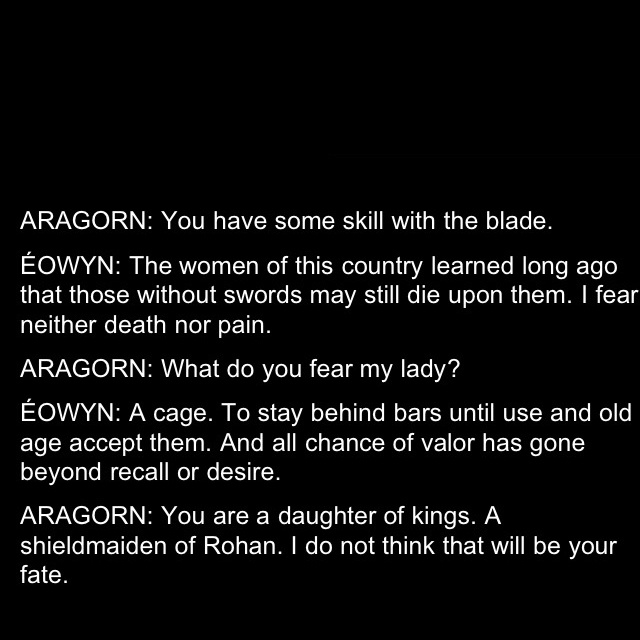 Rings With Quotes On Them Quotesgram: Eowyn Quotes. QuotesGram