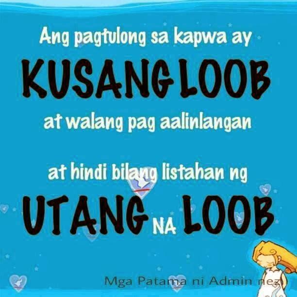 Ba Quote: Utang Na Loob Quotes Tagalog. QuotesGram