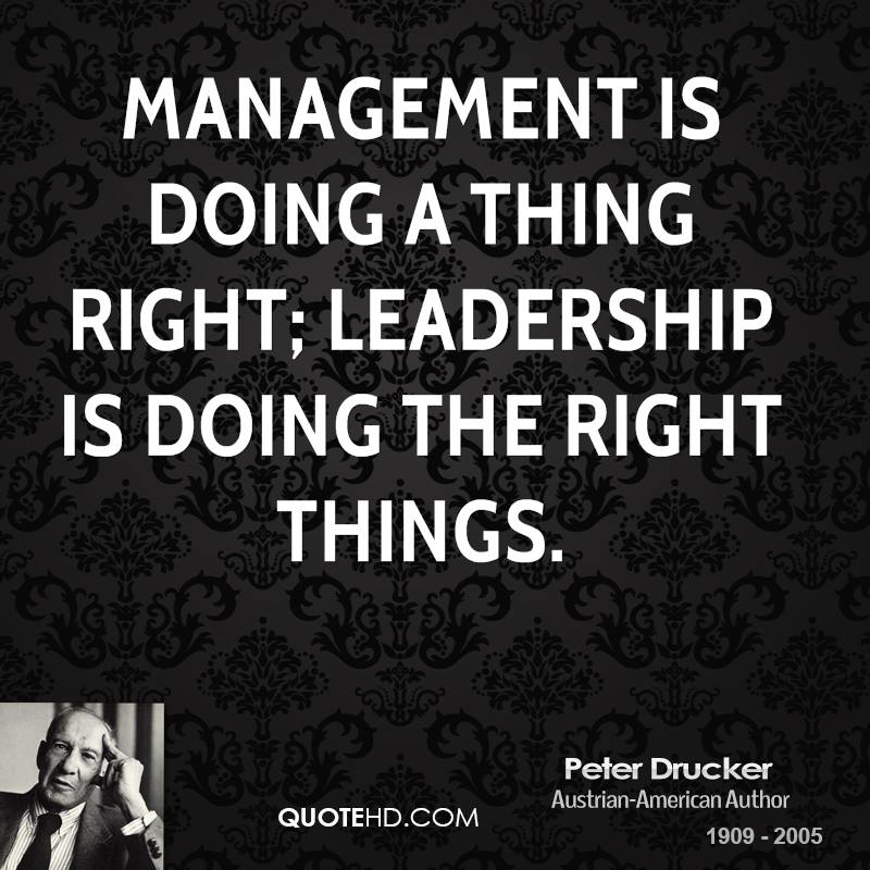Famous Football Manager Quotes: Peter Drucker Quotes On Leadership. QuotesGram