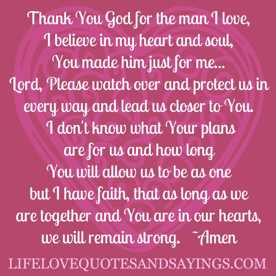 does god want a relationship with man over 50