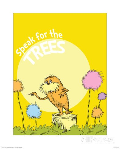 dr seuss quotes posters about trees quotesgram