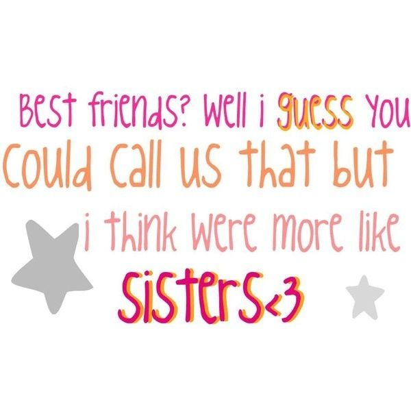 Bestfriends More Like Sister Quotes: More Like Sisters Quotes Best Friends. QuotesGram