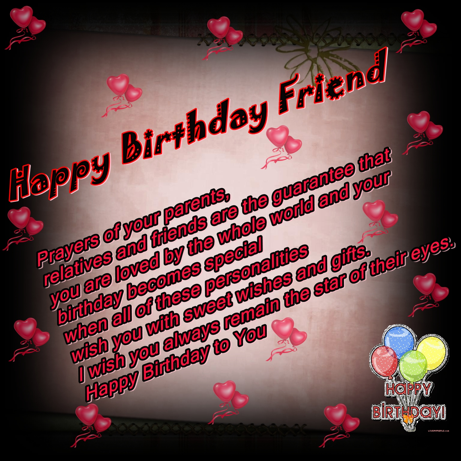 Birthday Wishes For Best Friend Quotes Tumblr: 40th Birthday Quotes For Friends. QuotesGram