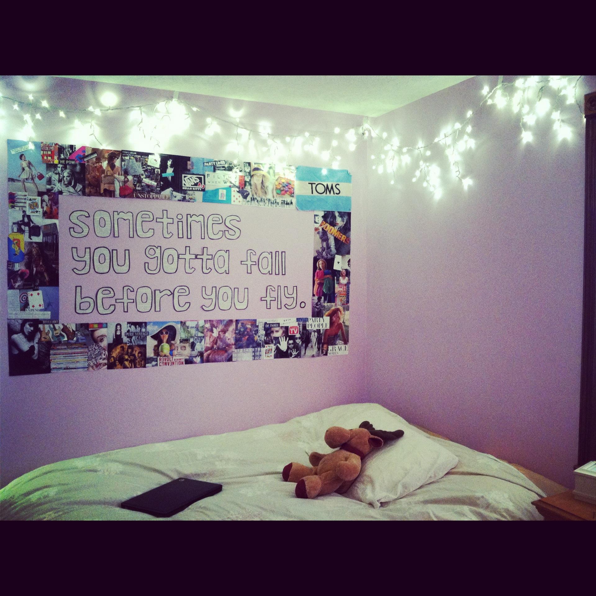 100+ [ tumblr bedroom ideas ] | tumblr rooms fairy lights best 25