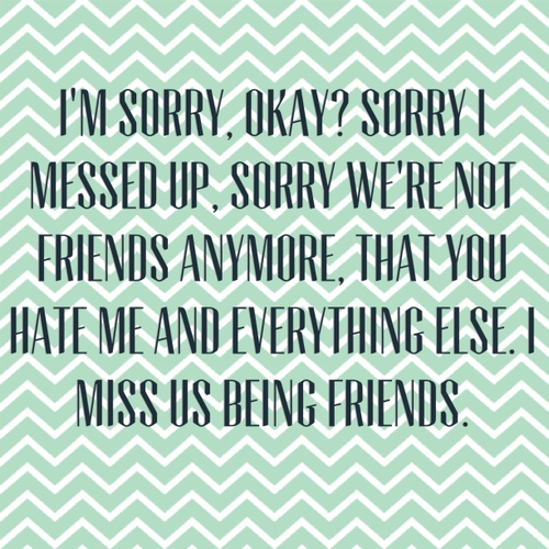 Messed Up Life Quotes: Quotes Sorry I Messed Up. QuotesGram