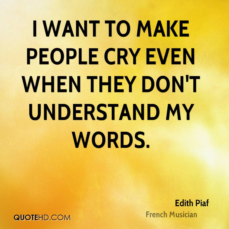 Quotes About Wanting To Cry I Want To Cry Q...