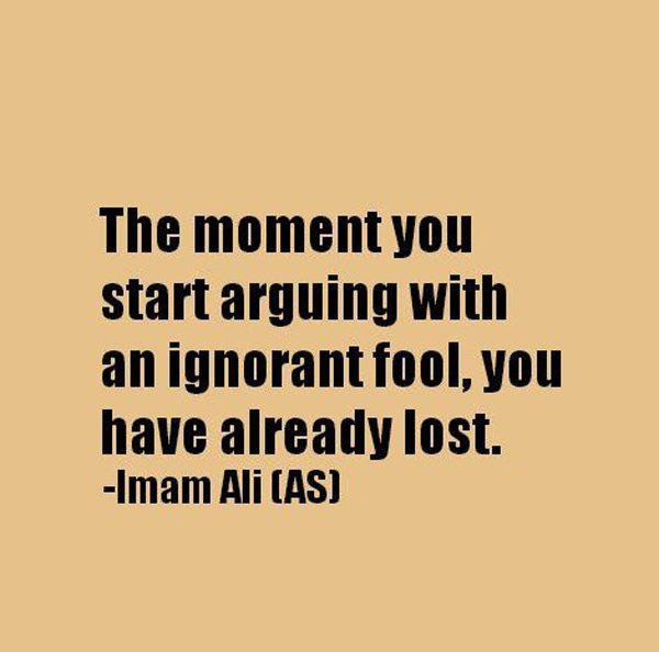 Never Argue With Stupid People Quote: Arguing With Ignorant People Quotes. QuotesGram