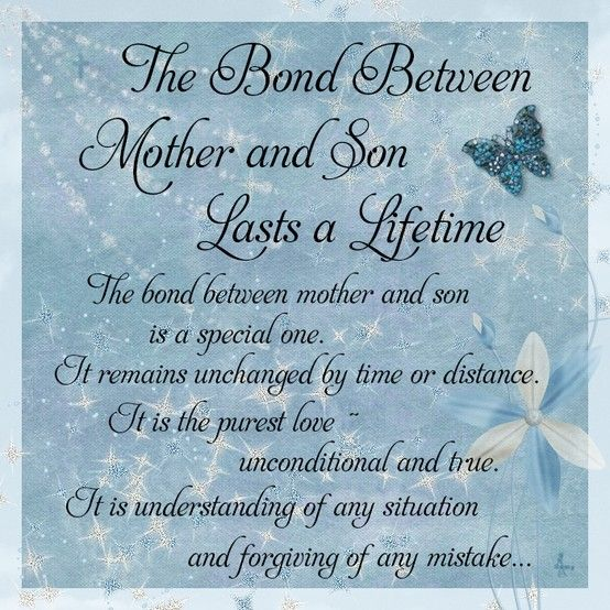 Mother To Son Quotes And Sayings: Mother Son Love Quotes. QuotesGram