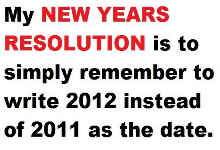 New Year Resolution Funny Quotes. QuotesGram