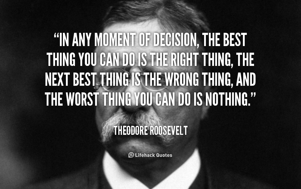 Theodore Roosevelt Quotes: The Worst At Theodore Roosevelt Quotes. QuotesGram