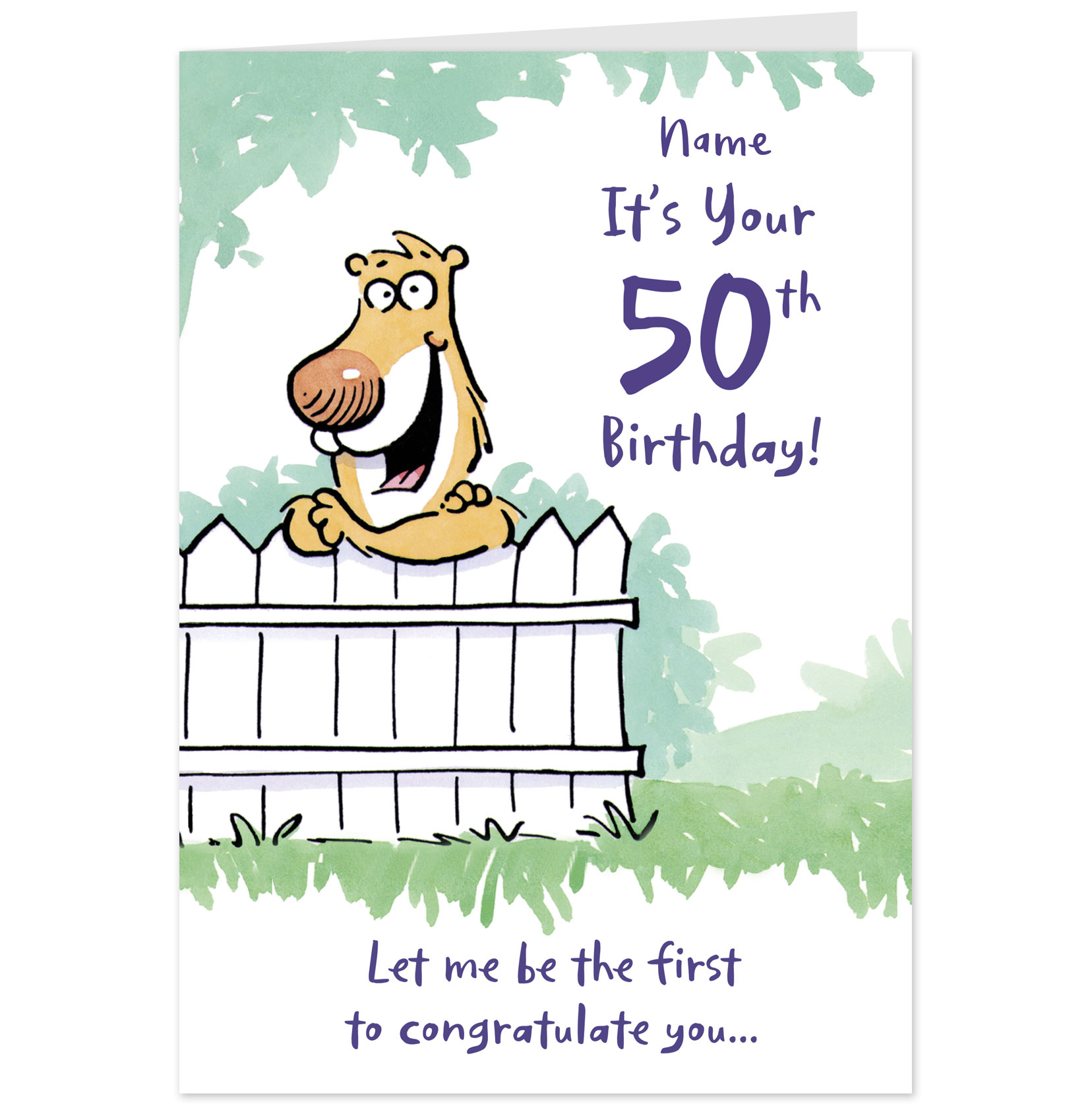 Funny 50th Birthday Cards For Mom Cute Birthday Gift – Funny Birthday Card Messages for Friends