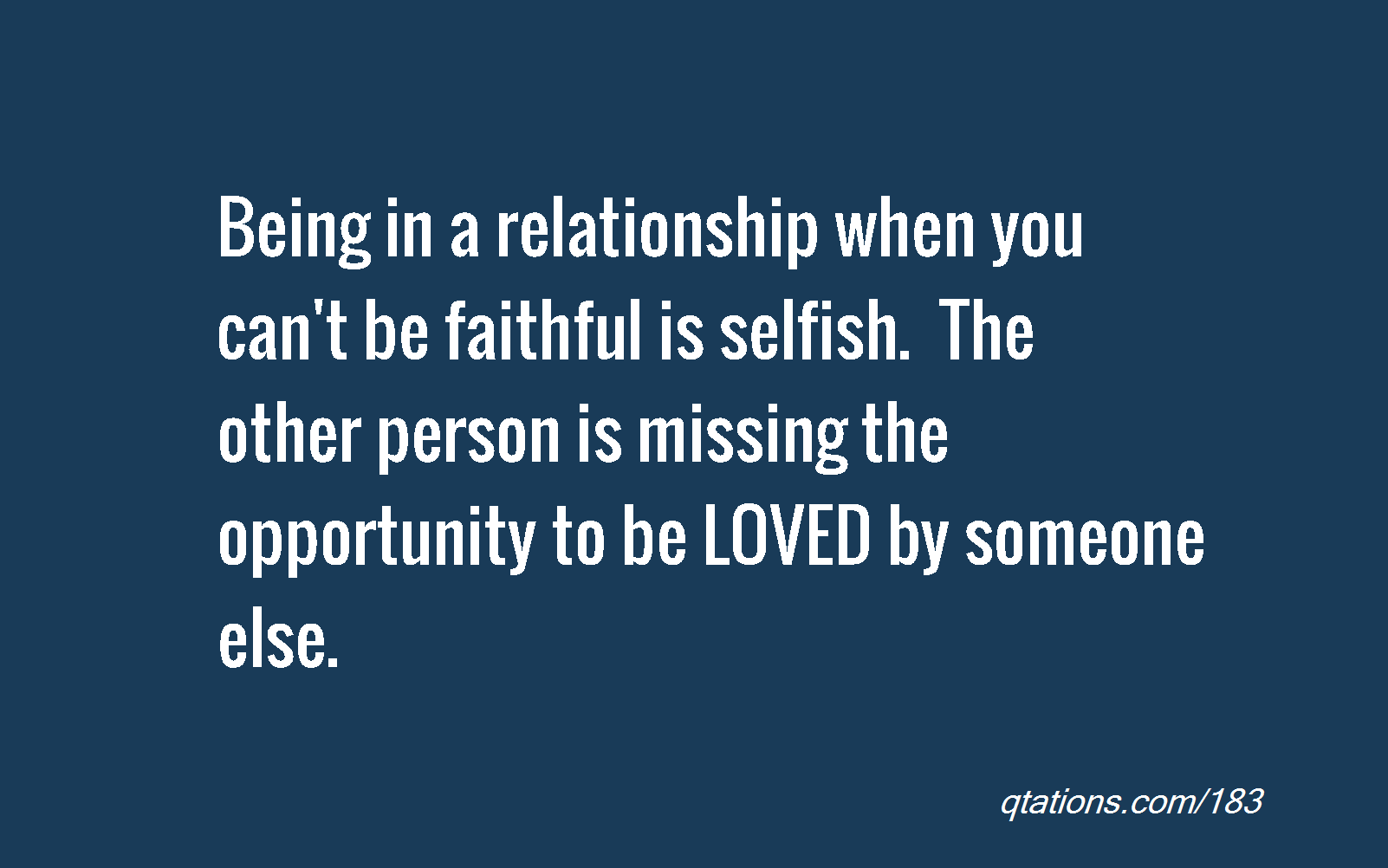 difference of loyal and faithful in a relationship