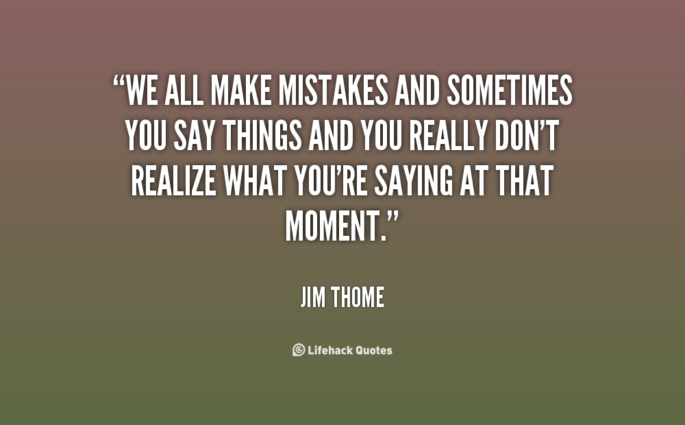making mistakes in relationships quotes quotesgram
