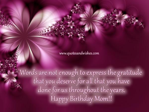 Happy Birthday Godmother Quotes Quotesgram: Happy Birthday Mom Quotes For Facebook. QuotesGram