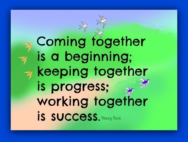 Working Together Inspirational Quotes: Wednesday Team Quotes. QuotesGram