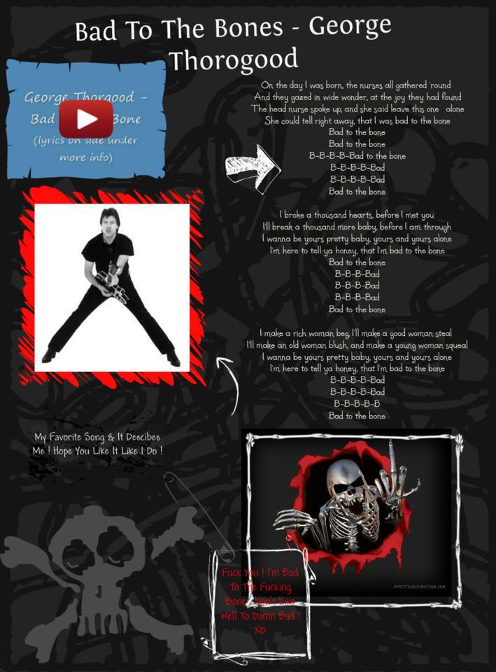 bad to the bone lyrics.wmv - YouTube