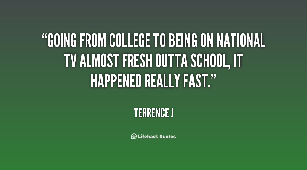 Going To College Quotes. QuotesGram
