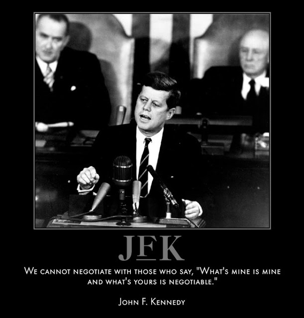 John F Kennedy Death Quotes: Cold War Fear Quotes. QuotesGram