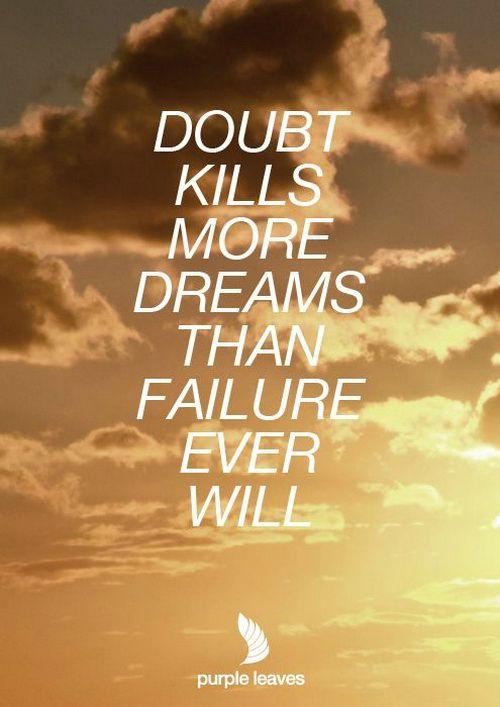 self doubt quotes inspirational  quotesgram