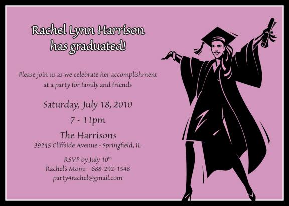 Quotes For Graduation Invitations