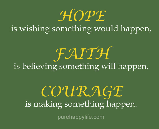 quotes about faith and courage  quotesgram