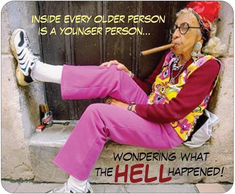Ladies 2 old happy birthday Birthday Wishes