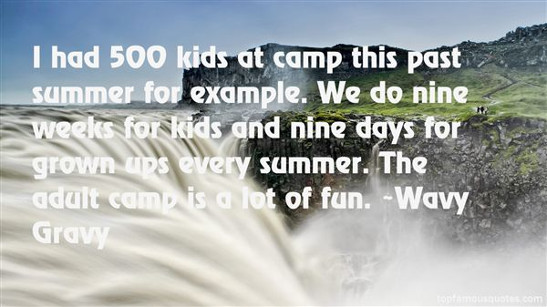 Great Quotes About Camping. QuotesGram