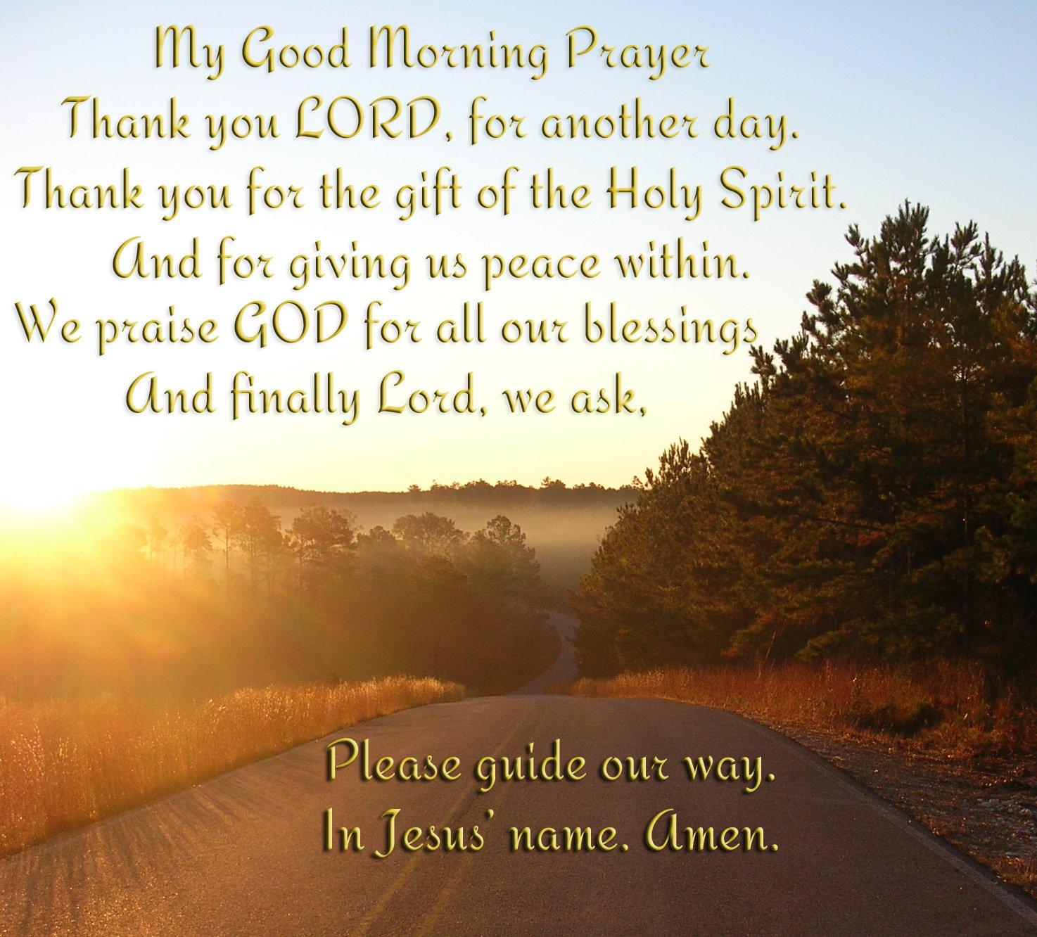Best Spiritual Good Morning Quotes: Christian Quotes Good Morning. QuotesGram