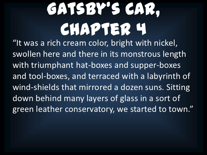 chapter 1 analysis of daisy buchanan Chapter 1 summary it is 1924 nick tells of a visit to the house of tom buchanan tom's wife, daisy.
