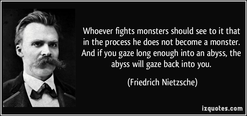 Frederick Niche Quotes Monsters Quotesgram