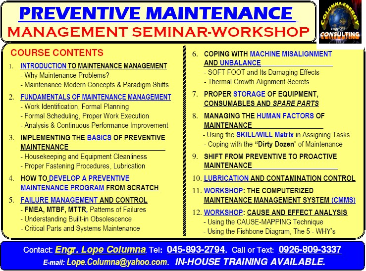 preventive maintenance quotes quotesgram