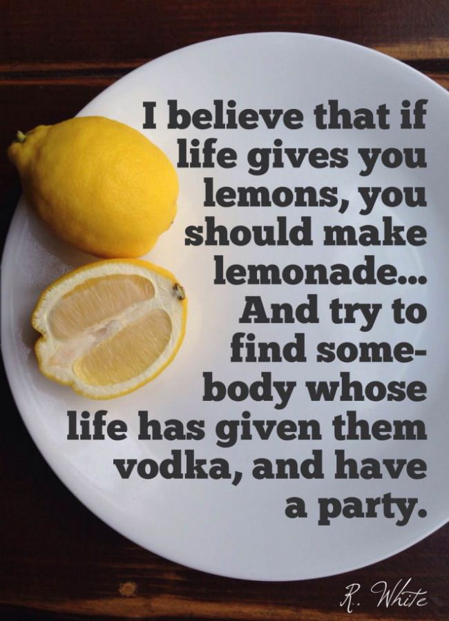 If Life Gives You Lemons Funny Quotes. QuotesGram Quotes About Being Yourself