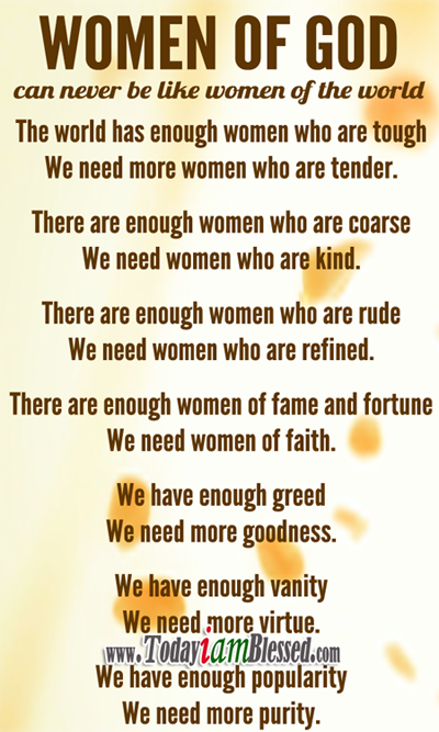 i am a woman of god quotes - photo #10