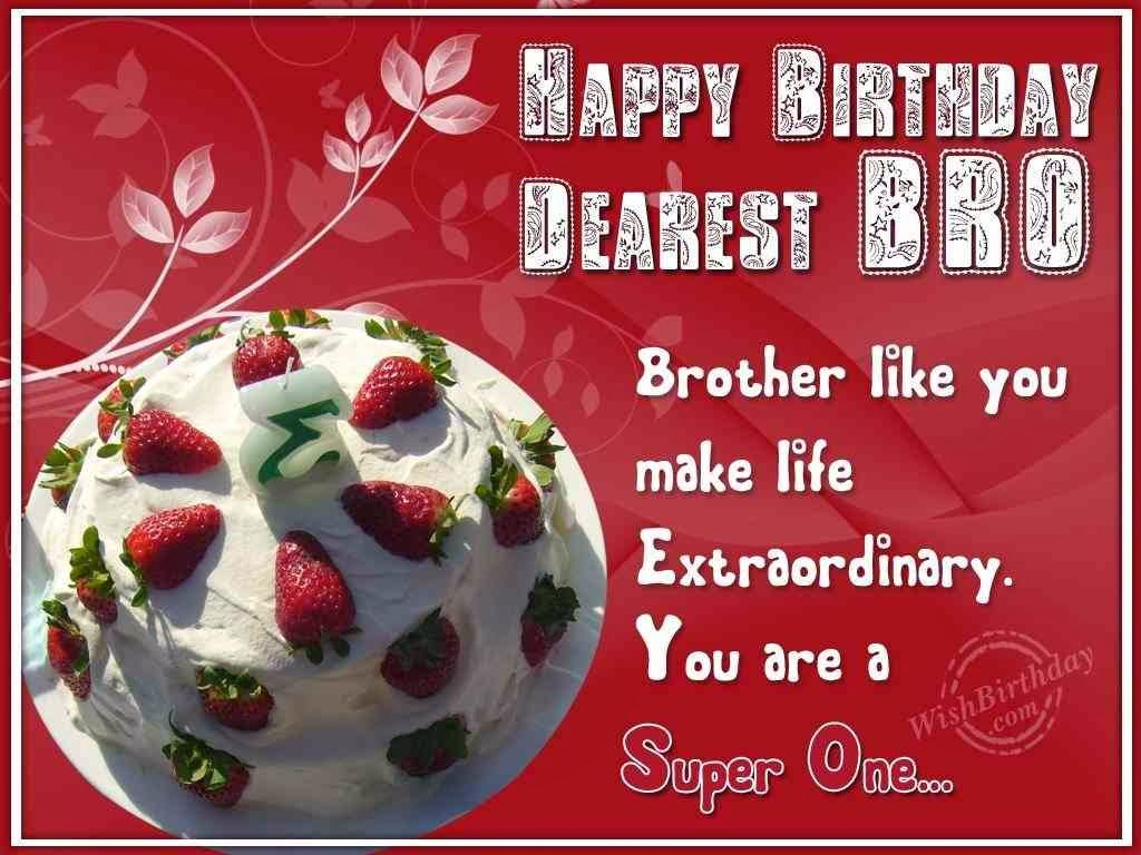 Birthday Quotes For Brother Turning 21 : Birthday wishes for brother quotes quotesgram