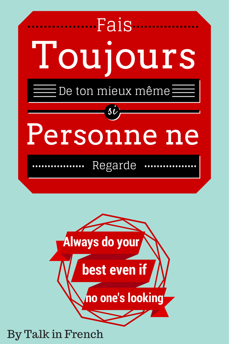 Inspirational Quotes In French. QuotesGram