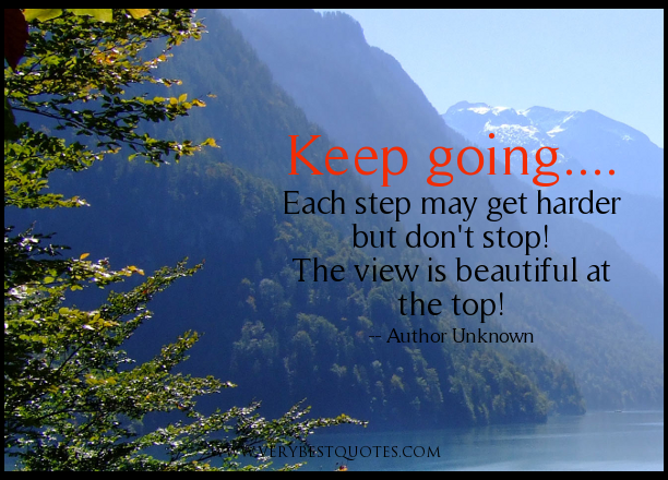 inspirational quotes to keep going quotesgram