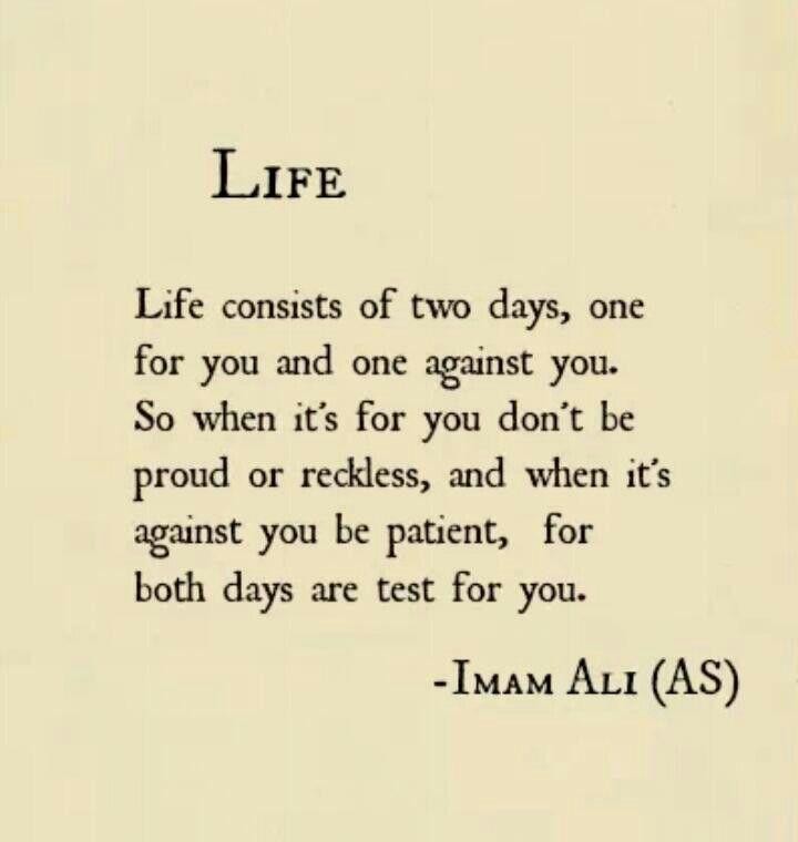 imam ali quotes about life quotesgram