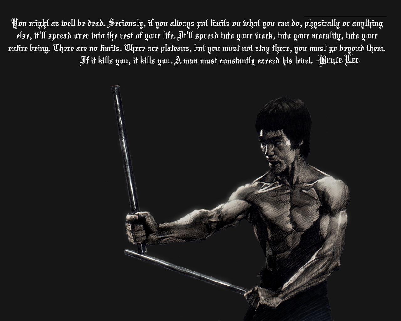 Quotes From Martial Arts Legends Quotesgram