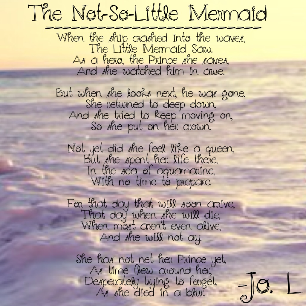 Mermaid Poems And Quotes Quotesgram