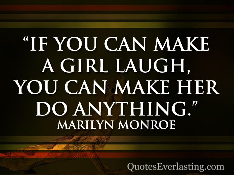 how to make any girl laugh