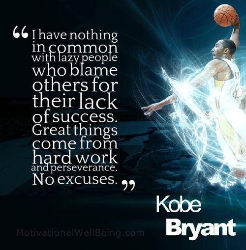 Kobe Bryant Quotes: Kobe Bryant Quotes On Success. QuotesGram